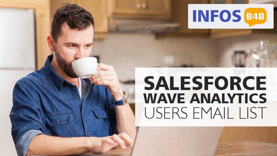Salesforce Wave Analytics Users Email List