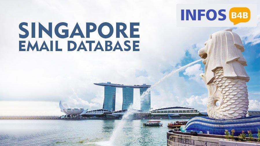 Singapore Email Database