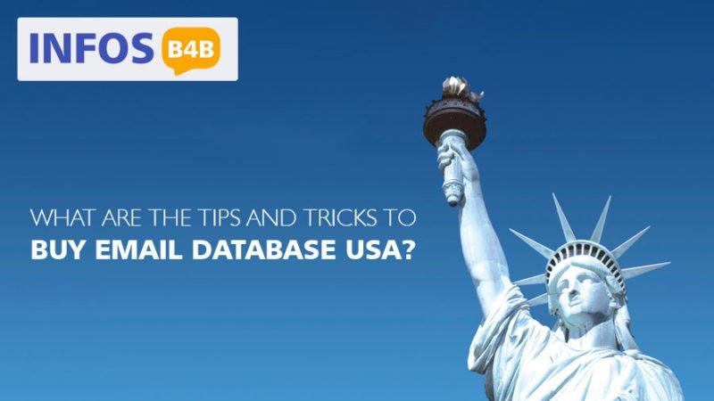 Buy Email Database USA