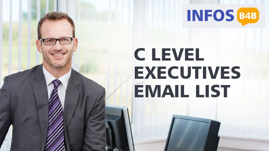 C Level Executives Email List