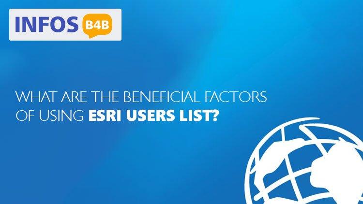 ESRI Users List